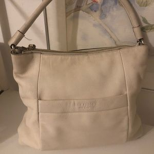 Kate Spade Leather Cream Bag